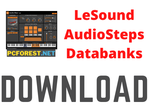 LeSound AudioSteps Pro Databanks Crack